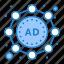 ad, marketing, strategy icon