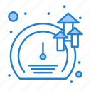 growth, meter, software, speed