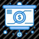 chart, money, presentation, strategy