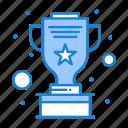 award, cup, silver, star