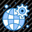 gear, global, network, settings
