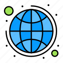global, strategy, plan, business icon