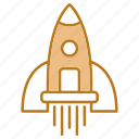 fast, rocket, seo, space, speed icon
