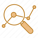 analysis, business, growth, report icon