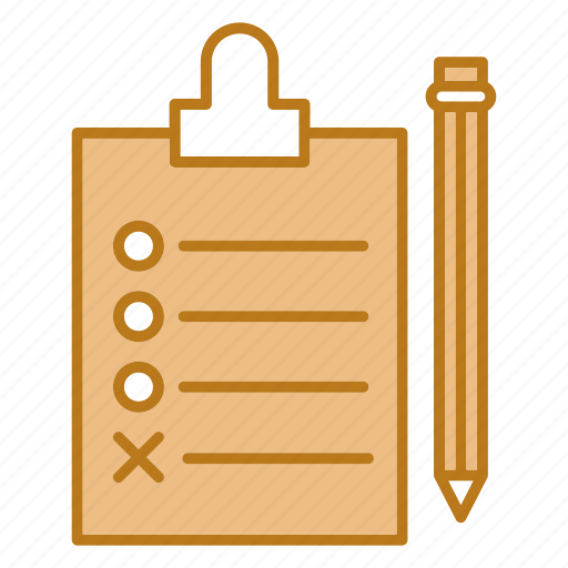content, document, planing icon