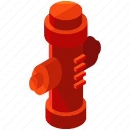 element, fire, hydrant, road, street icon