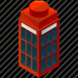 box, communication, elements, phone, street, telephone icon