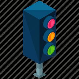 elements, lights, road, street, traffic icon