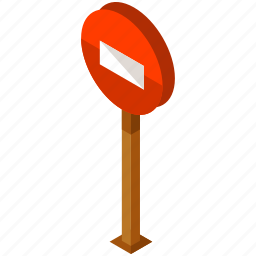elements, road, sign, street, way, wrong icon