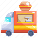 eat, food, street, truck icon
