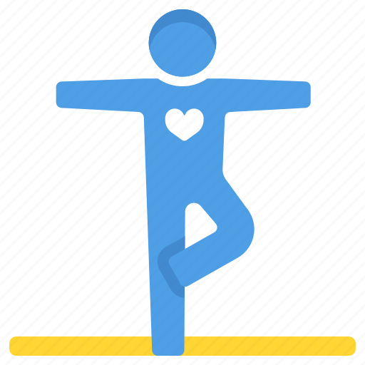 exercise, meditation, pose, stretch, wellness, workout, yoga icon