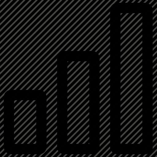 bar, bar chart, bar graph, chart, diagram, graph, report, scheme icon