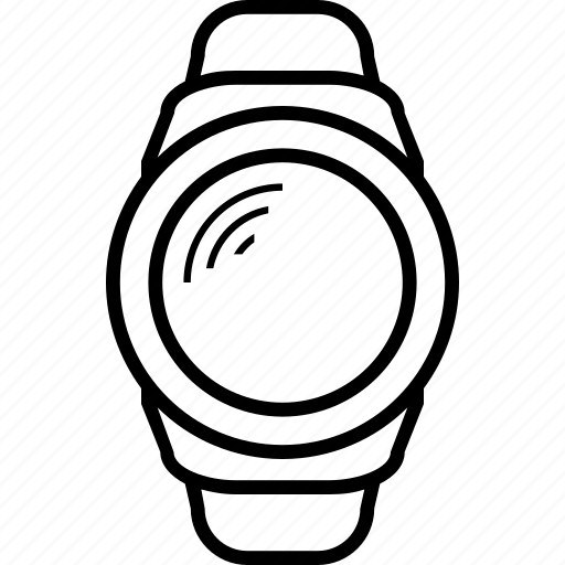 android, gear, s2, samsung, smart, smartwatch, watch icon