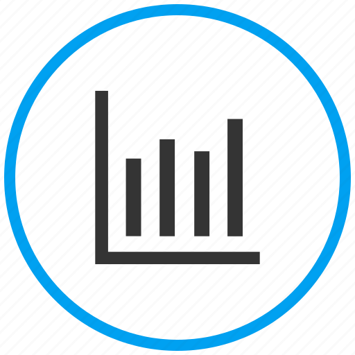 analytics, bar graph, growth, increase, inflation, report, statistics icon