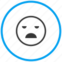 bad, fail, feeling, mood, poor, sad, unhappy icon