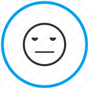 neutral, smiley icon