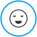 emot, excellent, good, great, happy, laugh, mood icon