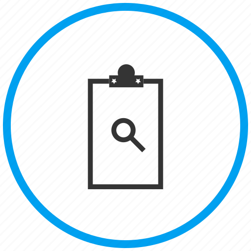 clipboard, notepad icon