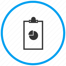analytics document, clipboard, notepad, pad icon