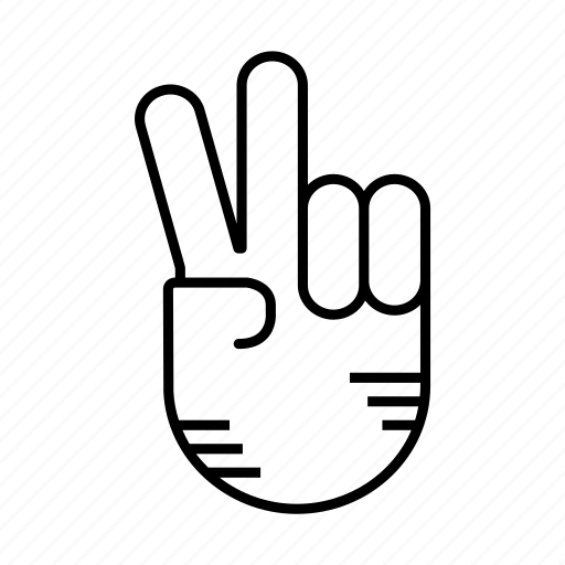 communicating, finger, gesture, hand, hand gesture, interaction icon
