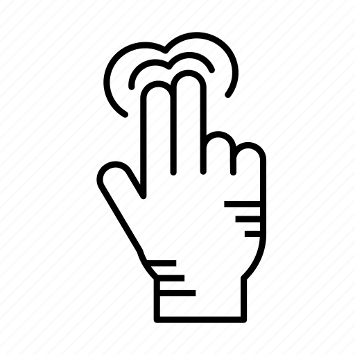 finger, gesture, hand, hand gesture, hand touch, touch, touch screen icon