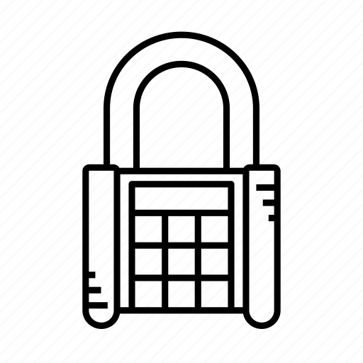 account, lock, padlock, password, safe, secure, strong icon