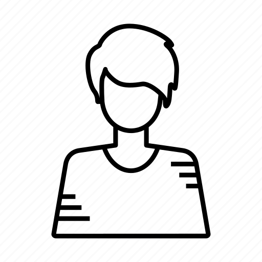 account, avatar, face, people, profile, style, user icon