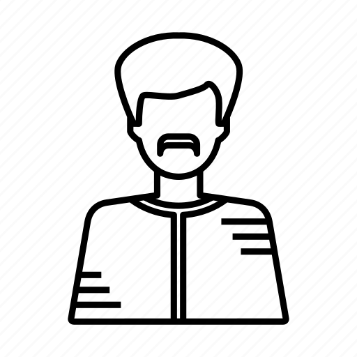 account, avatar, face, old man, people, profile, user icon