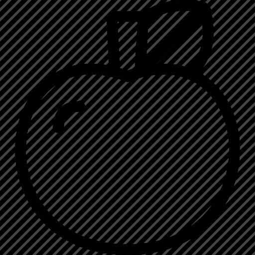 apple, eating, food, fruit icon