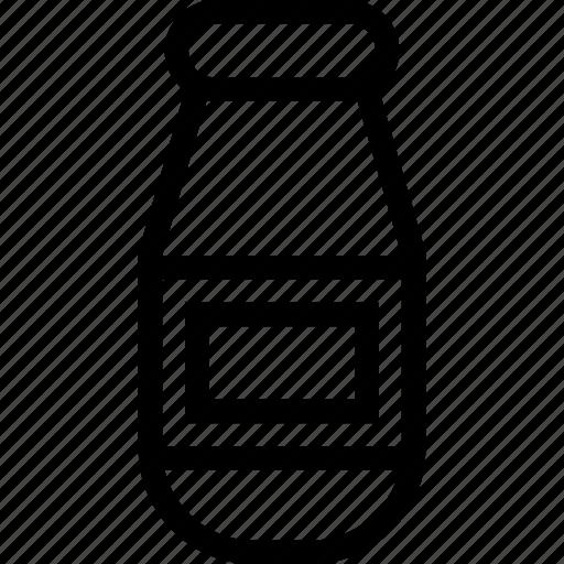 beverage, bottle, milk, water icon