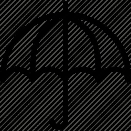 anti virus, equipment, hot, object, protect, rain, umbrella icon
