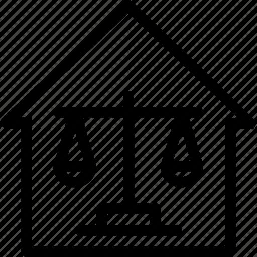 balance, business, comerce, home, house icon