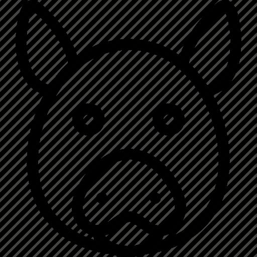 animal, animals, avatar, face, head, mammal, pet, pig icon