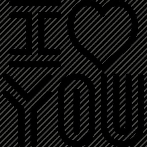heart, love, romantic, valentine, valentines, you icon