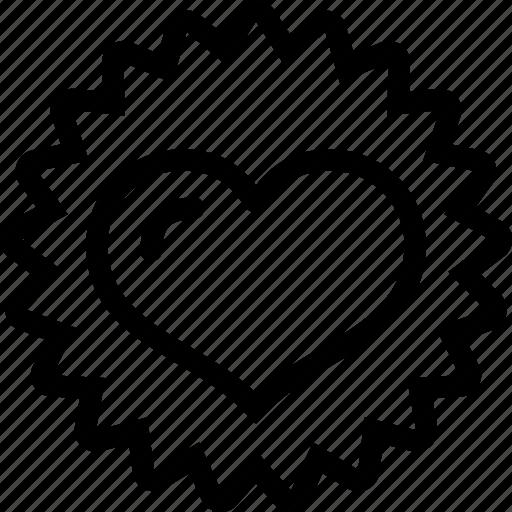 heart, love, rank, relationship, valentine icon