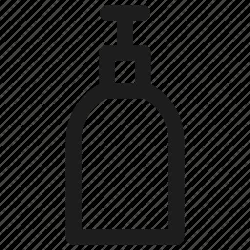 bottle, soap, soap bottle icon