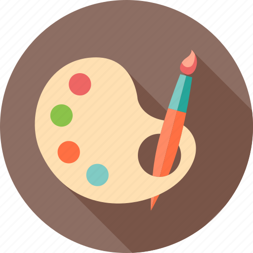 art, creative, design, drawing, painting, school, study icon