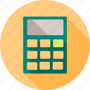 calculate, calculation, calculator, knowledge, mathematics, study icon