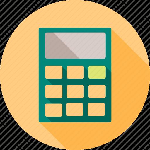 calculate, calculation, calculator, knowledge, mathematics, study icon