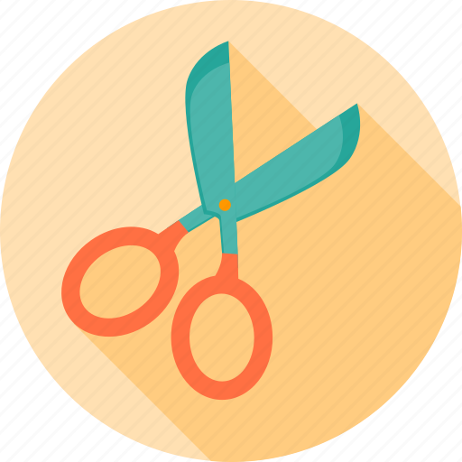 cut, education, equipment, scissor, student, study, tool icon
