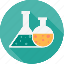 chemistry, education, laboratory, research, science, study, test tube icon