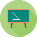 board, education, knowledge, learning, school, study icon