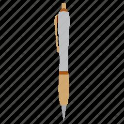 education, ink, pen, study, write icon