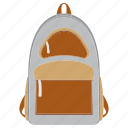 bag, education, school, study icon