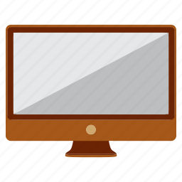 computer, monitor, study, television, wacth icon