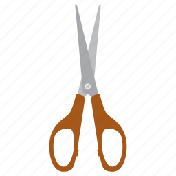 cut, education, scissors, study icon