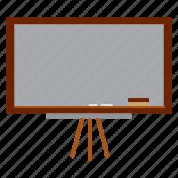black board, clack, study, teach icon