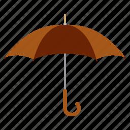 care, protection, rain, save, study, umbrella icon