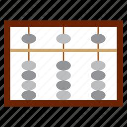 abacus, china, education, math, study icon