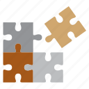 brain, game, office, study icon